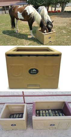 Horse Trailers and Accessories 73934: High Country Plastics Slow Feeder Saver Jr -> BUY IT NOW ONLY: $250 on eBay!