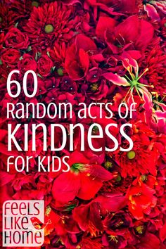 Kids can get involved in paying it forward, too! Here are 60 great ways to get them involved without a lot of expense.