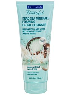 Dead Sea Minerals Foaming Facial Cleanser | Freeman