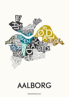 AALBORG - SPECIAL EDITION - 50x70 CM | Kortkartellet