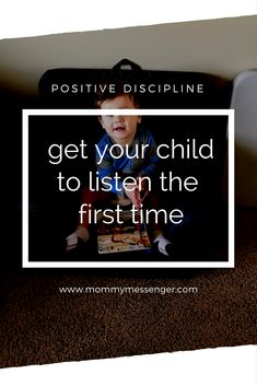 3 Guaranteed Ways to Get Your Child to Listen - Mommy Messenger - positive discipline, positive parenting, parenting tips, toddler listening - Practical Parenting, Step Parenting, Parenting Toddlers, Parenting Books, Parenting Advice, Peaceful Parenting, Gentle Parenting, Positive Discipline, Kids Behavior