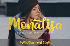 Monalisa Script by Fargun Studio on @creativemarket