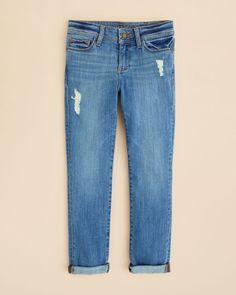 DL1961 Girls' Distressed Harper Ladybird Boyfriend Jeans - Sizes 7-16
