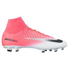 586ab41a0634 Nike Mercurial Victory VI DF FG Soccer Shoes (Racer Pink White)    SoccerEvolution