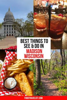 Madison, WI is a place that everyone should have on their must-visit list. A beautiful place with so many things to do, see and eat. How good is the food? So good we had to move here. Check out all the fun things we want you to add to your Wisconsin trip planning today.  #VisitMadison