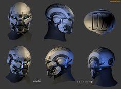 ArtStation - Exo Heads, Zeke Garcia