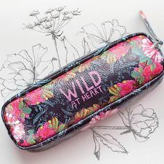 Wild At Heart Pencil Case
