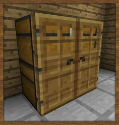 How To Make A Closet In Minecraft