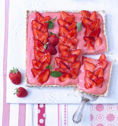 Rezept: Erdbeer-Tarte