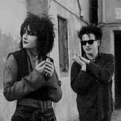 Siouxsie #Siouxsie Robert Smith The Cure  #Robert #Smith #Cure #RobertSmith #TheCure shared by @Neferast