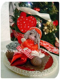Portafoto/ https://it.pinterest.com/pin/783978247603766475/ doll in pasta di mais /Porcelana fria/ Das/ Bomboniere/Articoli regalo/Cold porcelain/Bamboline in pasta di mais/Polymer clay/Natale/Christmas/Pasta di mais/Oggetti fai da te/doll in pasta di mais/angeli