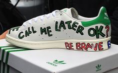 10 Pair of Pharrell's Customized Stan Smiths for Colette - Royal Fashionist