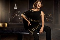 Catherine McNeil Cozies Up for Donna Karan Resort 2014 Campaign + Cashmere Mailer