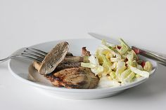 Grilled Lemon Chicken with Cabbage and Corn Slaw - Taste and Tell