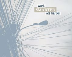 """""""Work smarter, not harder."""" Photo + design by The Lacquerie"""