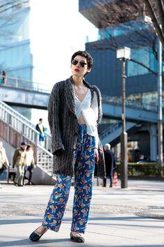 ストリートスナップ [sayo akasaka] | JANSPORT, used, ジャンスポート, 古着 | 原宿 | Fashionsnap.com