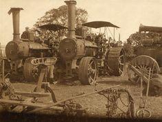 McLaren ploughing engines, Fairymead Sugar Mill, Bundaberg   by Highranger