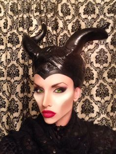 0e58b5f393f Makeup FX by  Zecret  Maleficent