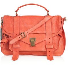 A coral colored purse would be perfect!