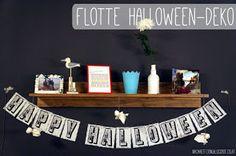 Halloween Girlande, Blogging, Home Decor, Paper, Garlands, Deco, Gifts, Decoration Home, Room Decor