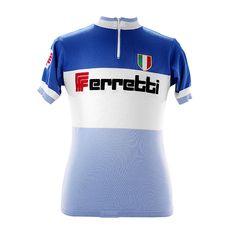 Ferretti Team 1971 maillot cycliste manches courtes