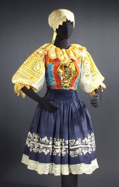 Traditional clothes for the Piestany region of Slovakia