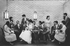 Cleveland & Akron Ohio Wedding Photography, wedding party.