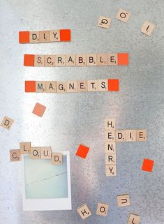How to Make Scrabble Magnets - Say Yes to Hoboken