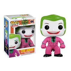 Funko does not skip out on the details for this Joker pop vinyl figure from the 1966 TV Series. Our favorite detail is the whited-over mustache that Cesar Romero refused to shave off for the series. A