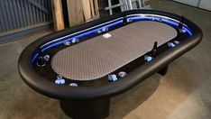 Man Cave Ideas and a Guide to a Successful Design - Man Cave Home Bar Man Cave Diy, Man Cave Home Bar, Men Cave, Ultimate Man Cave, Small Room Design, Table Games, Game Tables, Poker Table, Custom Furniture
