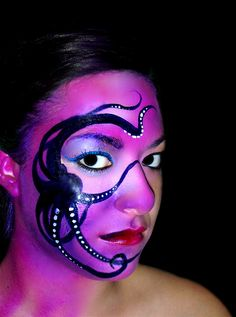 fancy face paint