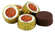 Choctology™ individually wrapped cameo chocolate pieces.