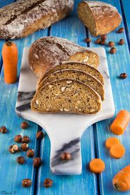Hungry Shots: Carrot and hazelnuts bread