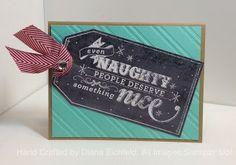 Stampin' Fun with Diana, My Digital Studio, Hybrid Card, Christmas Card, Stampin' Up!, Diana Eichfeld