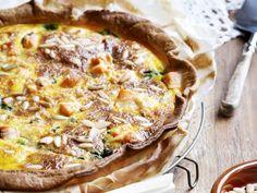 Quiche met zalm en spinazie - Libelle Lekker!