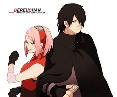 SasuSaku - render 5 - BereuChan  Editei a roupa do Sasuke, a completando, então, estou voltando a compartilhar :V