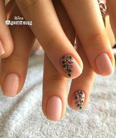 nail art designs for very short nails 2018 Elegant Nail Designs, Pretty Nail Designs, Nail Art Designs, Pedicure Designs, Spring Nail Art, Spring Nails, Gorgeous Nails, Pretty Nails, Ten Nails