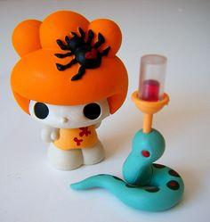 The Lady From Maruyama  Artist: Junko Mizuno  Manufacturer: Kidrobot