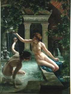 Edward Poynter 1836-1919 UK Sir Water Babies