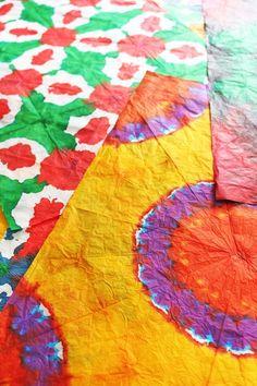 4c5e7f1a77b99c DIY  Tie-Dye Tissue Paper