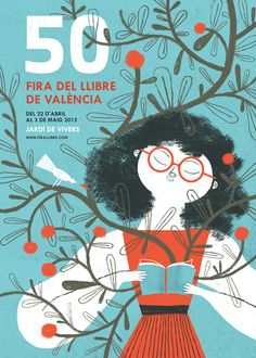 50 Valencia Book Fair on Behance