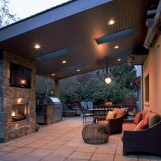 covered Patio (REALLY like the skylights and can lighting)