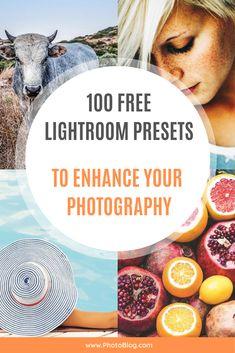 lightroom presets cover photo for pinterest