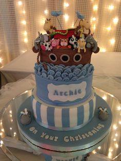 Archie's Christening Cake