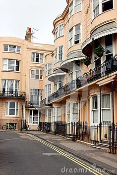 A regency square in the city in  Brighton, Sussex, England