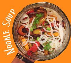 Per gli amanti della cucina asiatica un piatto dai sapori inconfondibili e facilissimo da preparare: LaNoodle soup.