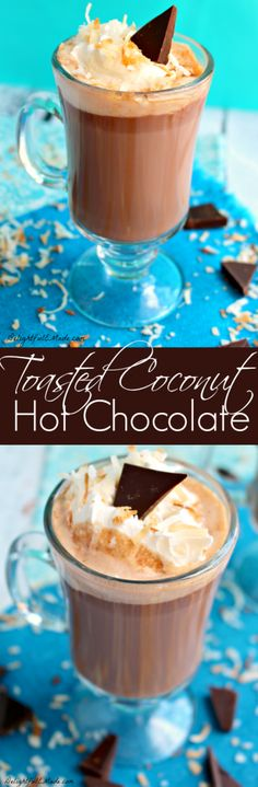 If you like coconut, you'll love this classic hot chocolate! Rich, chocolaty and completely delicious! (scheduled via http://www.tailwindapp.com?utm_source=pinterest&utm_medium=twpin&utm_content=post448549&utm_campaign=scheduler_attribution)