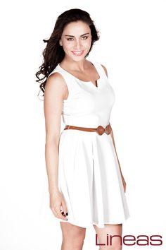 Vestido, Modelo 19500. Precio $200 MXN #Lineas #outfit #moda #tendencias #2014 #ropa #prendas #estilo #primavera #outfit #vestido