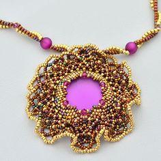 Sunset Magic Necklace   JewelryLessons.com