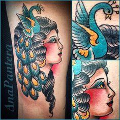 Bientôt @anapantera ! #mubodyarts #mustardcity #dijontattoo #tatouagedijon #tattoodijon #dijontatouage #tatouage #tattoo #portrait #peacocktattoo #ladytattooers #venezuelatattoo #dijon #oldschooltattoo #peacock #boldandcleantattoo #paon #traditionaltattoo #tradworkers #neotrad #oldschool #gitana #anapanthera #lineworkers #modifiedunicorns #dijonville #comegetpainted